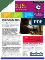 Focus - Customer Service Assured Newsletter Issue 1
