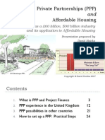 Public Private Partnerships (PPP) and Affordable Housing by David Hoicka