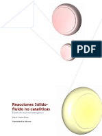 Reacciones Sólido Fluido No Catalíticas - Universidad de Alicante