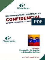 Xx - Monitor-Vargas - Intención de Voto Parlamentarias 6d (Al 23 Septiembre 2015) (1)