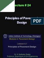 24 Principles of Pavement Design