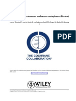 Interventions for Cutaneous Molluscum Contagiosum