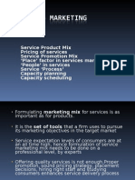 02.Services Marketing(Mkt Mix)