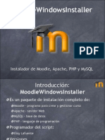 Moodle Windows Installer