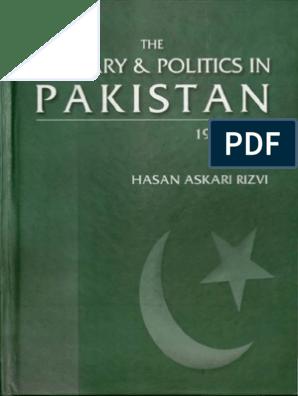 Pakistan_ the Military _ Politics in Pakistan 1947-1997_