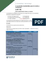 Caso Práctico NIIF 5 Activos No Corrientes Mantenidos Para La Venta y Operaciones Discontinuas Copia