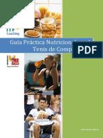Guia Nutricional en El Tenis