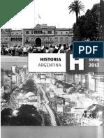 Historia Argentina H 1976-2013 1