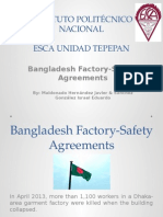 Bangladesh Factory-Safety Agreements