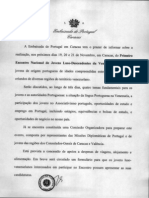Comunicado Embaixada - Primeiro Encontro Nacional Jovens Luso-Descendentes Da Venezuela