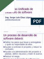 Proceso Unificado de Desarrollo de Software
