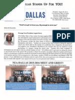 DISD October 2015 Newsletter