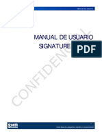 Manual de Usuario Signature Server V1