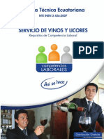 Servicio de Vinos y Licores