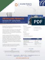 ENDURO FRP Panels Cooling Tower Application
