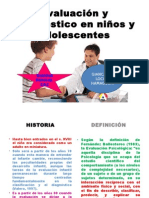 Evaluación y Diagnóstico en Niños y Adolescentes
