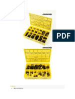 Kit de Oring de Equipos Komatsu Series 07000 07002