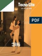 Catalogo Tecnolite 2015