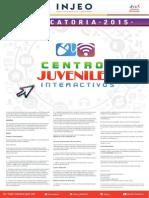 Convocatoria Centros Juveniles 2015-300915