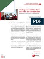 PAPER-Alta consejería de las personas con discapacidad