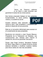 17 03 2011 23 Congreso Nacional de Diabetes
