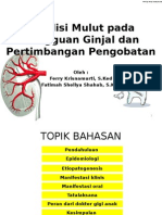 PPT Ferry Jurnal Gagal Ginjal Dan Manifestasi Oral