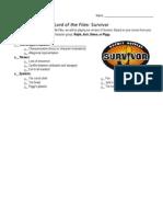lotf survivor annotations