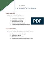 Temario F.Humana