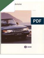 Saab 900 Cabriolet 1994 Dutch [Ocr]