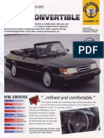 Saab 900 Convertible 86 93 [Ocr]