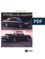 Saab 900 Convertible 1994 Ce [Ocr]