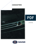 1993 Saab Accessories Catalog [Ocr]
