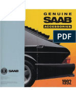 1992 Saab Accessories Catalog [Ocr]