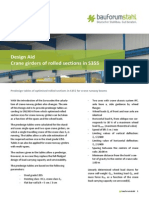 Design Aid Crane Girders