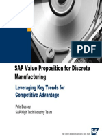 Leveraging Trends in the Discrete Manufacturing Industry