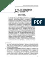 PAUL DAVID - Clio y La Economía Del QWERTY