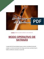 Modo Operativo de Satanas