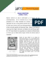 Isaac Newton - Historia de La Ciencia