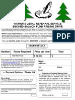 Smoked Salmon Flyer Easter PDF Doc