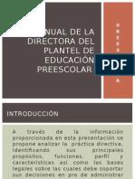 ORIENTACIONES DIRECTORAS PREESCOLAR