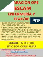 Poster Opo SESCAM