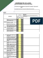 Formato Para Evaluación Proyectos de Investigación