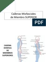 Clase 10 Cadenas Miofasciales MMSS