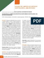 Validacao Do Processo de Limpeza de Artigos Odonto Medico Hospitalares