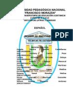 Informe Español Tecnicas de Estudio