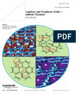 Chemistry With Graphene and Graphene Oxide-Challenges for Sinthetic Chemists