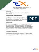 Apprentice Information Sheet
