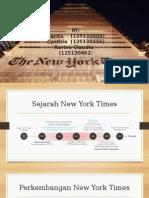 Spm New York Times (Kelompok 8)
