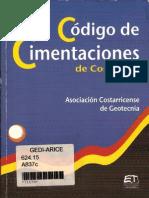 72075788 Codigo de Cimentaciones de Costa Rica