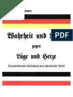 Wolfgang Juchem - Wahrheit Und Recht Gegen Luege Und Hetze